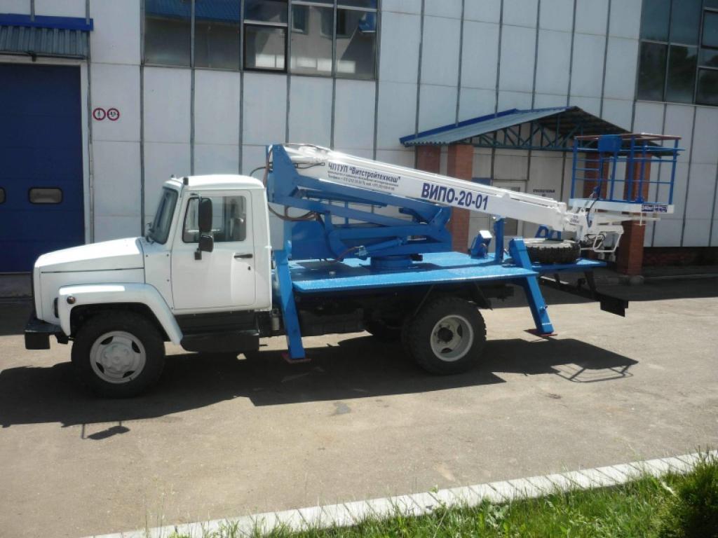Автогидроподъемник ВИПО-20 ГАЗ 3309