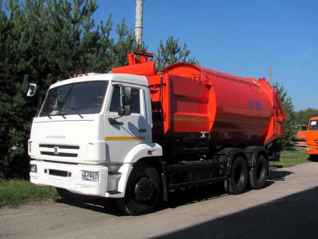 Мусоровоз с боковой загрузкой КО-449-02