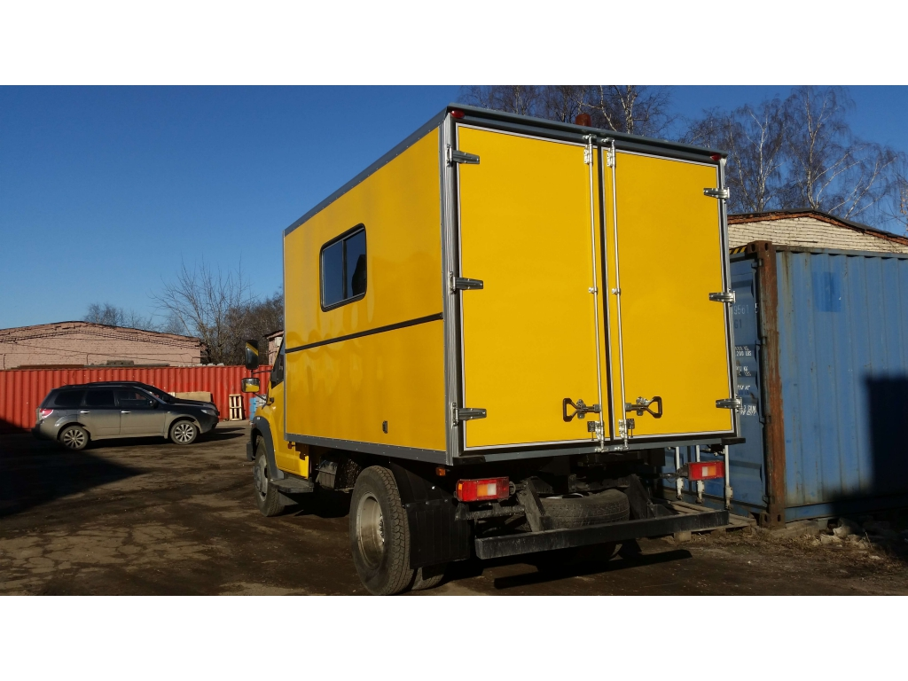 Каналопромывочная машина на шасси ГАЗ-C41R13 NEXT