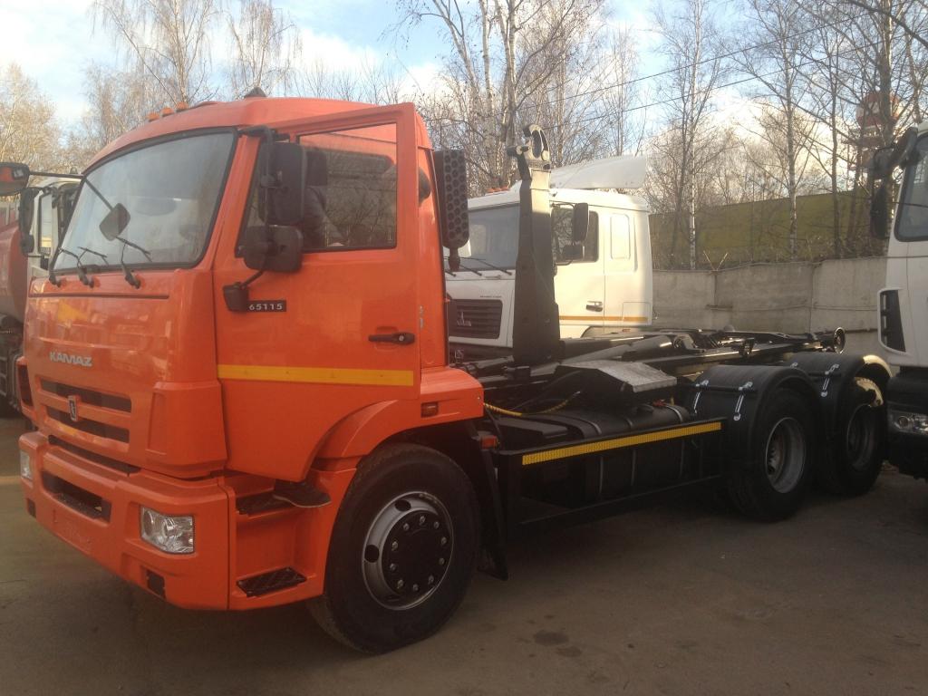 Мультилифт на шасси КАМАЗ-65115